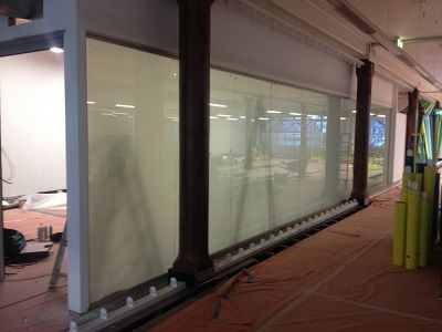 mamamia has switchable privacy glass installed into their new boardroom read about it here