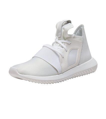 Adidas  mujer tubular Defiant zapatilla blanco todos hechos hasta ahora
