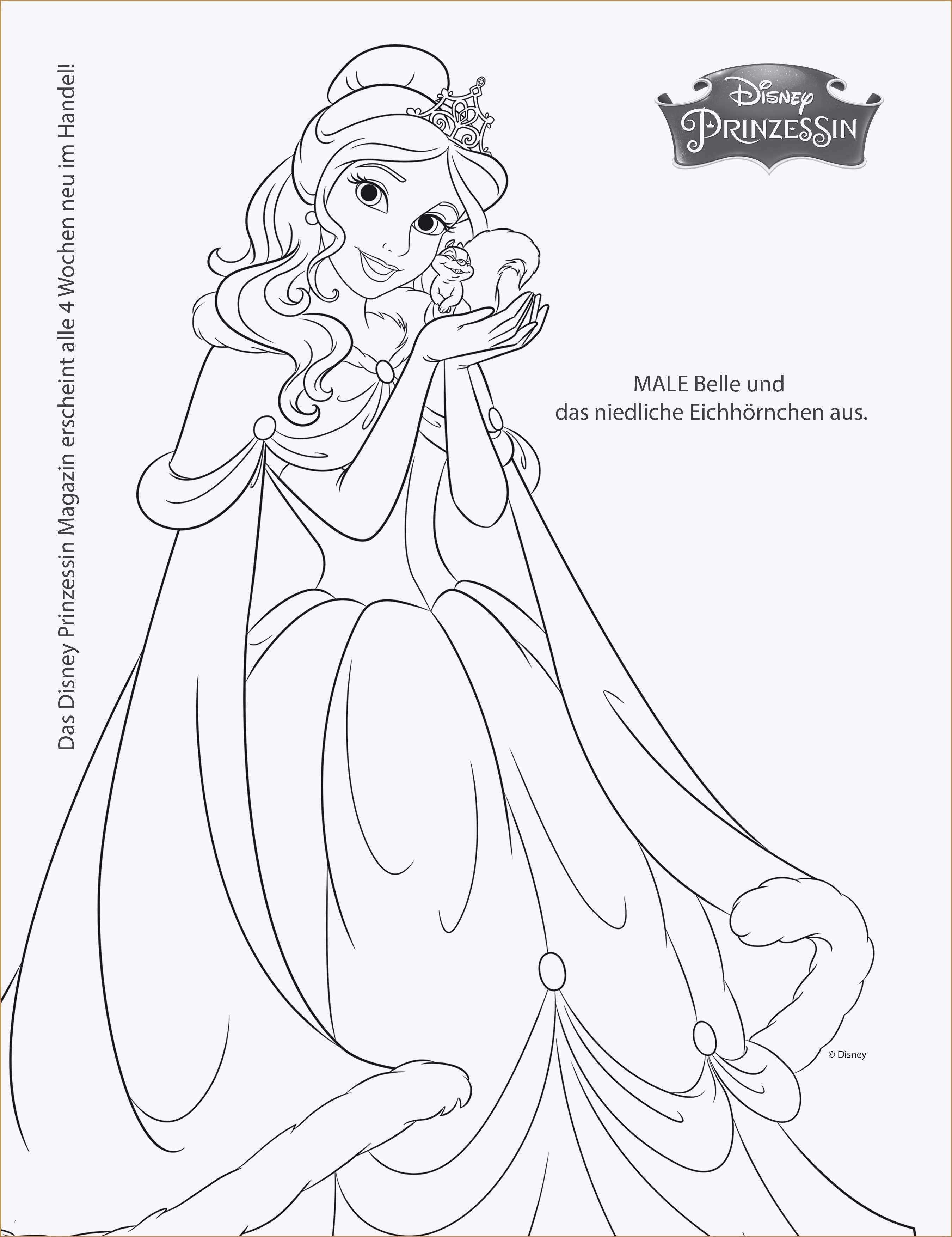 Einzigartig Prinzessin Malvorlagen Disney malvorlagen