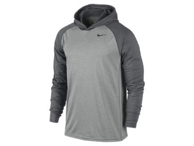 Nike Dri FIT Touch Long Sleeve Men's Training Hoodie