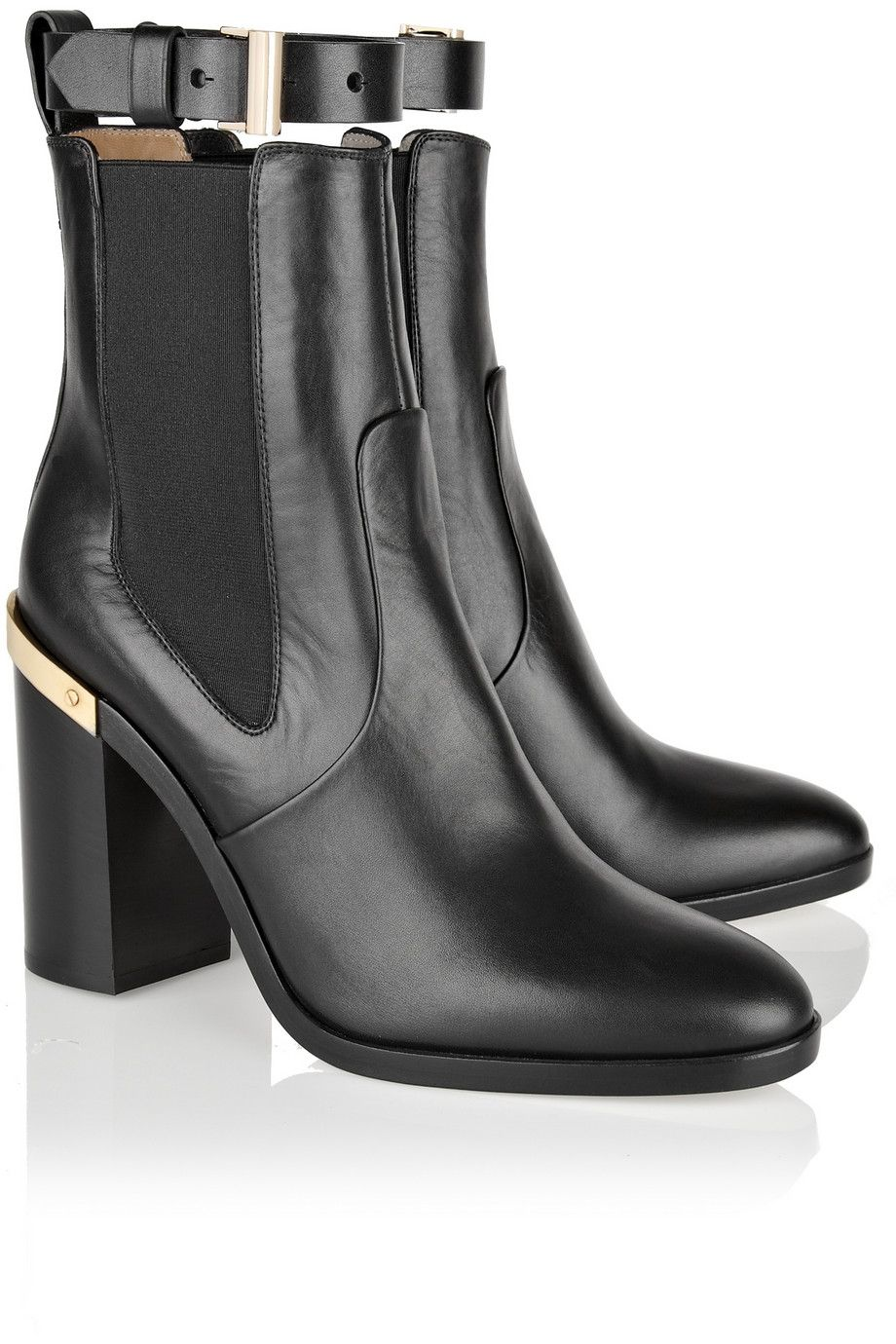 REED KRAKOFF Leather Ankle Boots RauF6SND