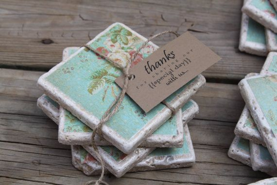 etsy thursday rustic wedding finds rustic stone coaster great favors for