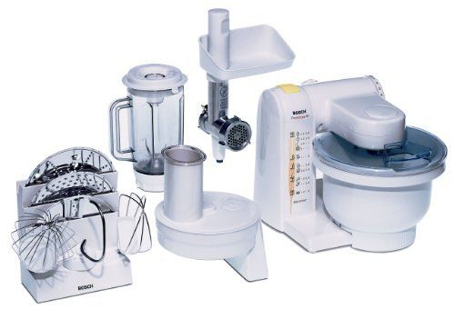 Bosch MUM4655EU Küchenmaschine MUM4 (550 Watt, 39 Liter) weiß von - bosch küchenmaschine mum 54251