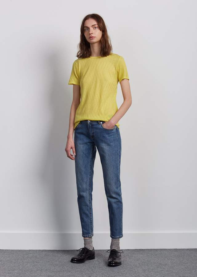 A.P.C. Jean Etroit Court Indigo   Clothing and brands