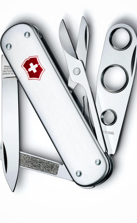 Corta Cigarros Alox Victorinox Swiss Army Knife Swiss