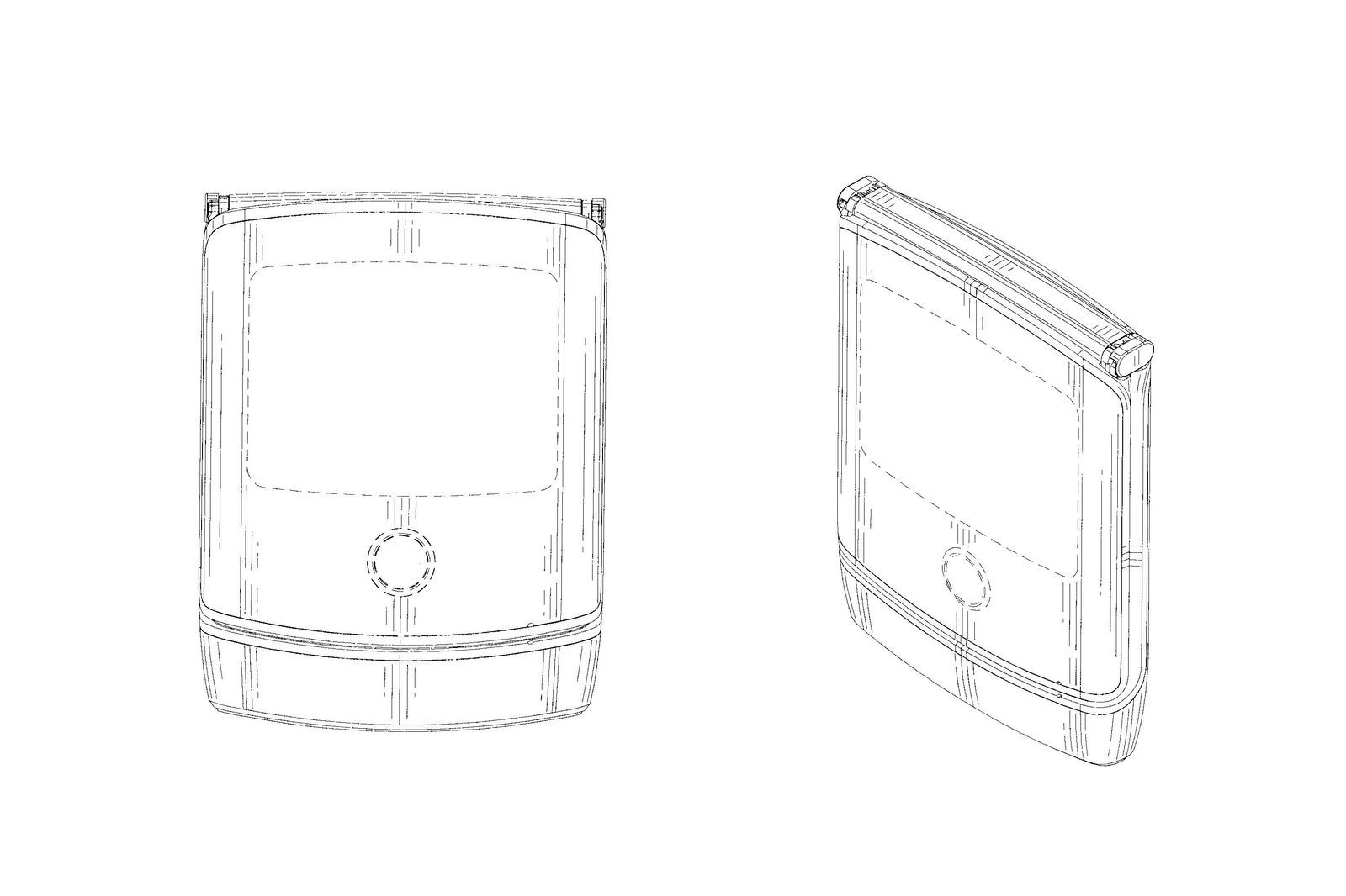 This might be the new Motorola RAZR smartphone with a