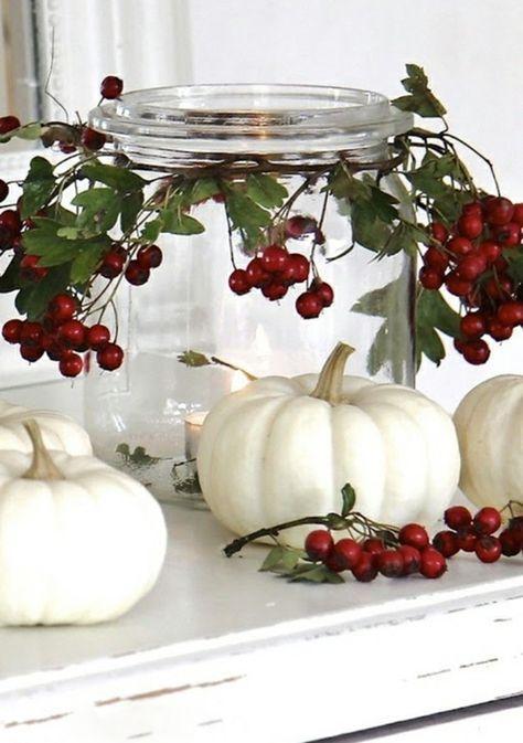 40 Einmachgläser Deko Ideen, die ganz einfach nachzumachen sind #herfstdecoraties