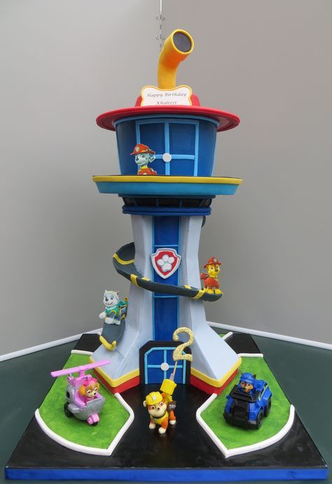 Paw Patrol Tower Trabajo In 2019