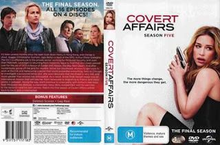 Covert Affairs Season Five 2016 R4 Cover Serie Avec Images