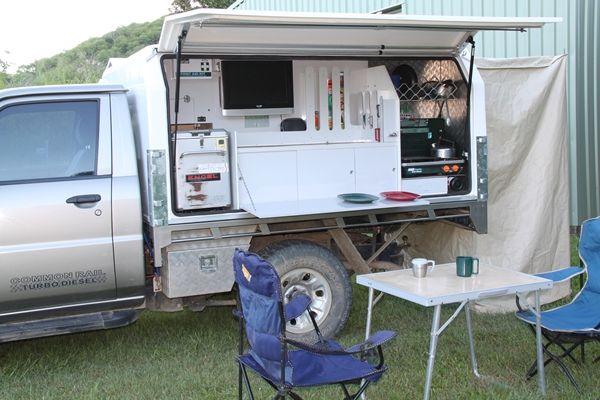Ute Mate Slide On Camper Ozroame Web Slide In Camper