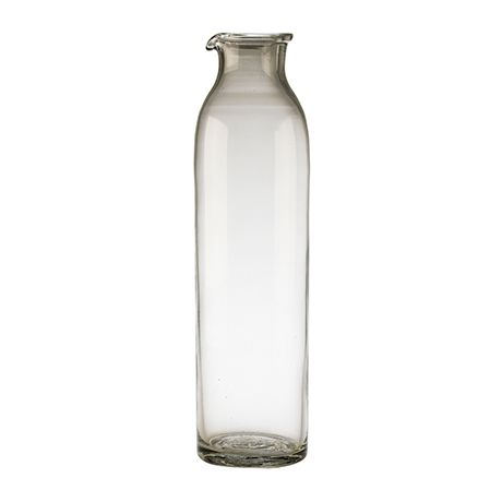 Tall glass jug. Available this week on LLUSTRE.com at an exclusive price.