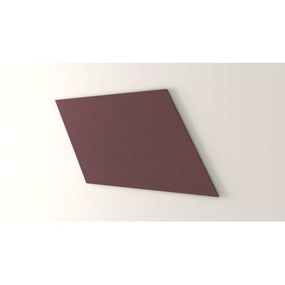 "OBEX Parallelogram Wall Mounted Bulletin Board Size: 2' H x 2' 6"" W"