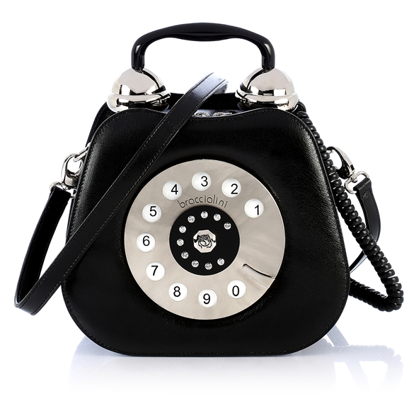 Vintage Telephone Handbag