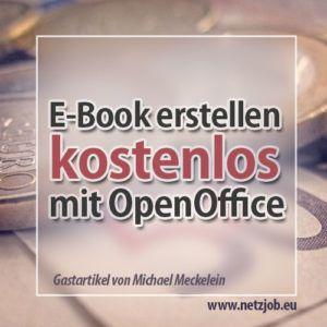 EBook erstellen Einfach und kostenlos mit OpenOffice