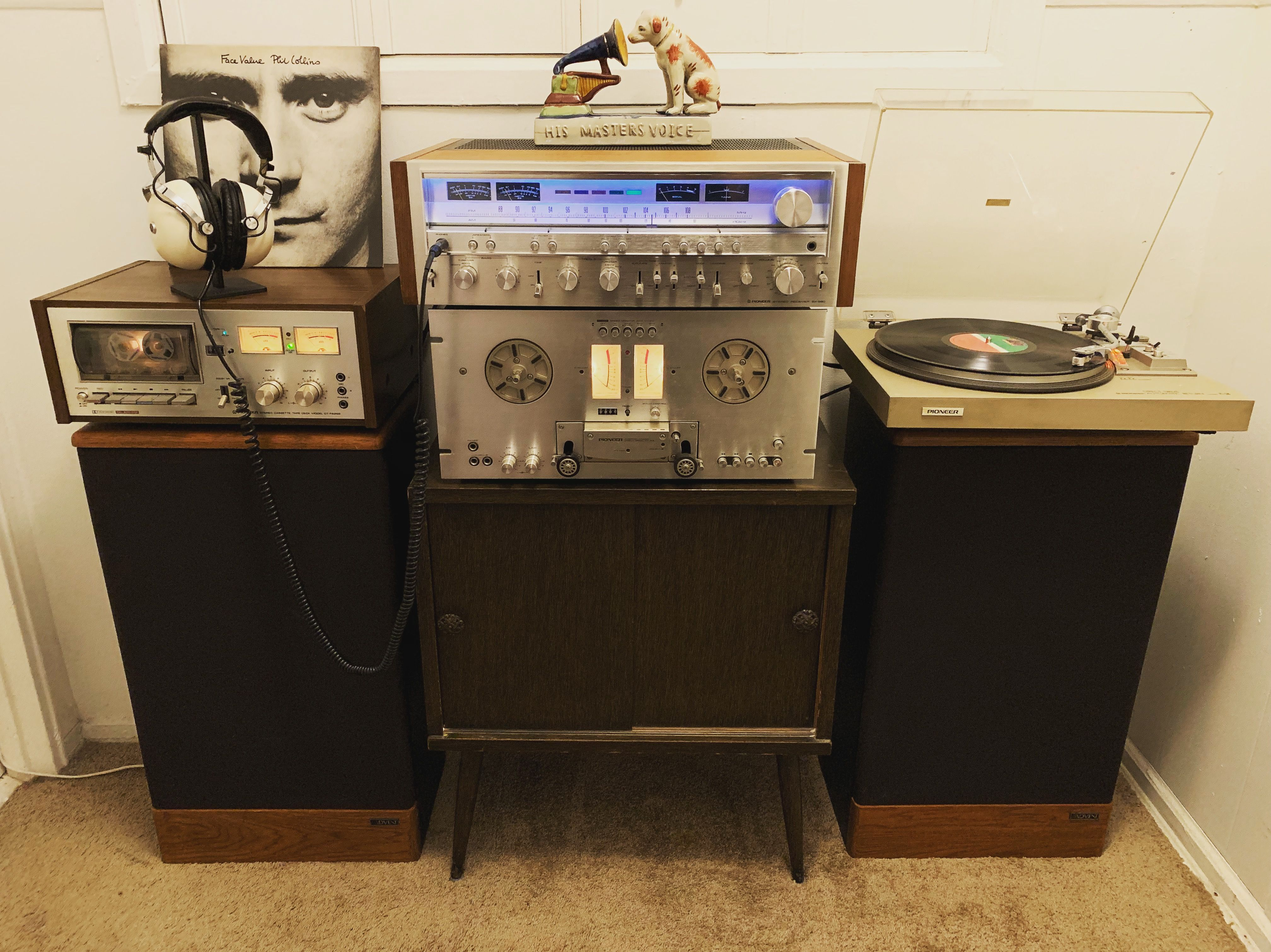 Pioneer Set up with advent legacy speakers (With images