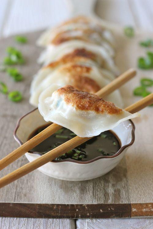 Shrimp Dumplings - Homemade dumplings are easier to make than you think!