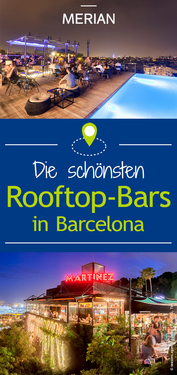 Die besten Rooftop-Bars in Barcelona #travelbugs