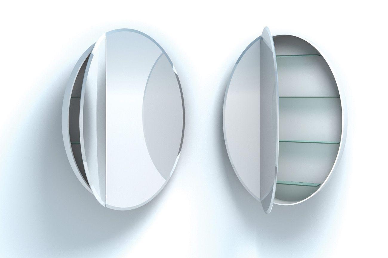 home small decoration inovation oval gallery inovodecorcom furniture photo mirror medicine cabinet