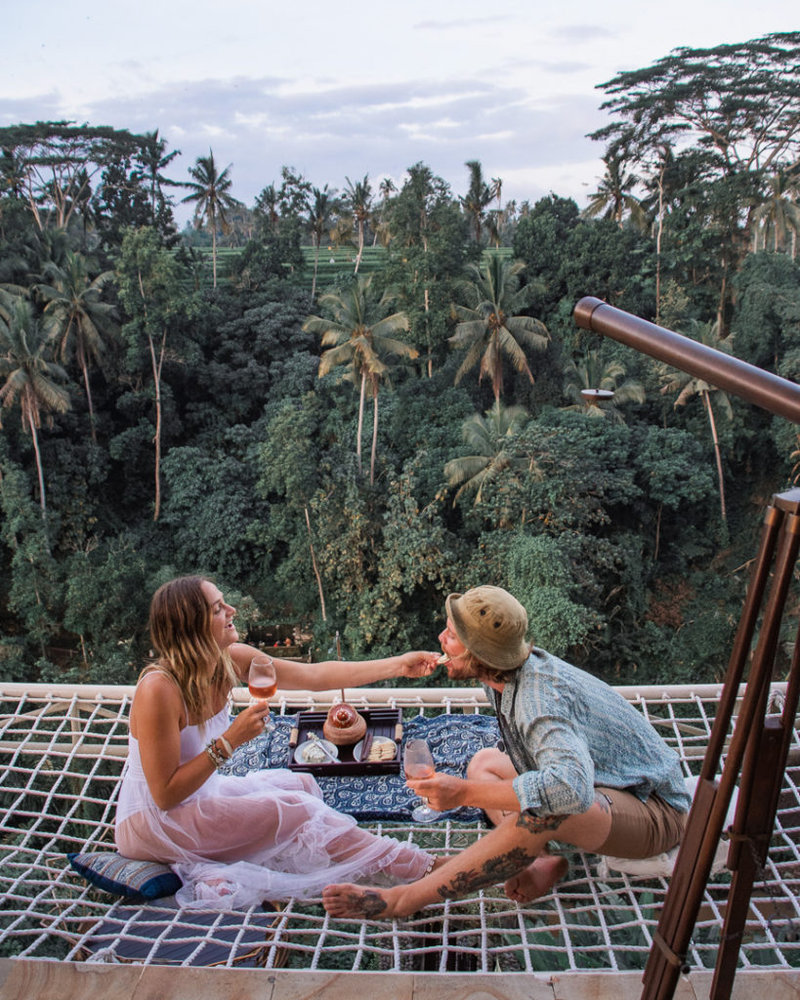 13 Bali Net Bed Hotels With Amazing Hammock Jungle Views Asia Places Bali Places To Travel