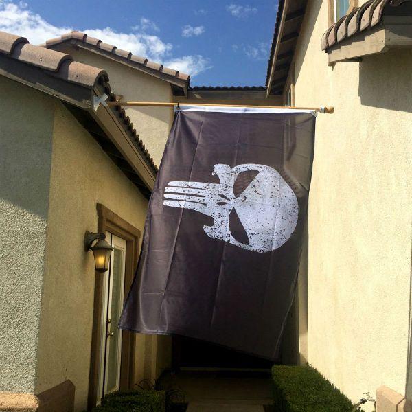 (affiliate link) Punisher Skull Flag