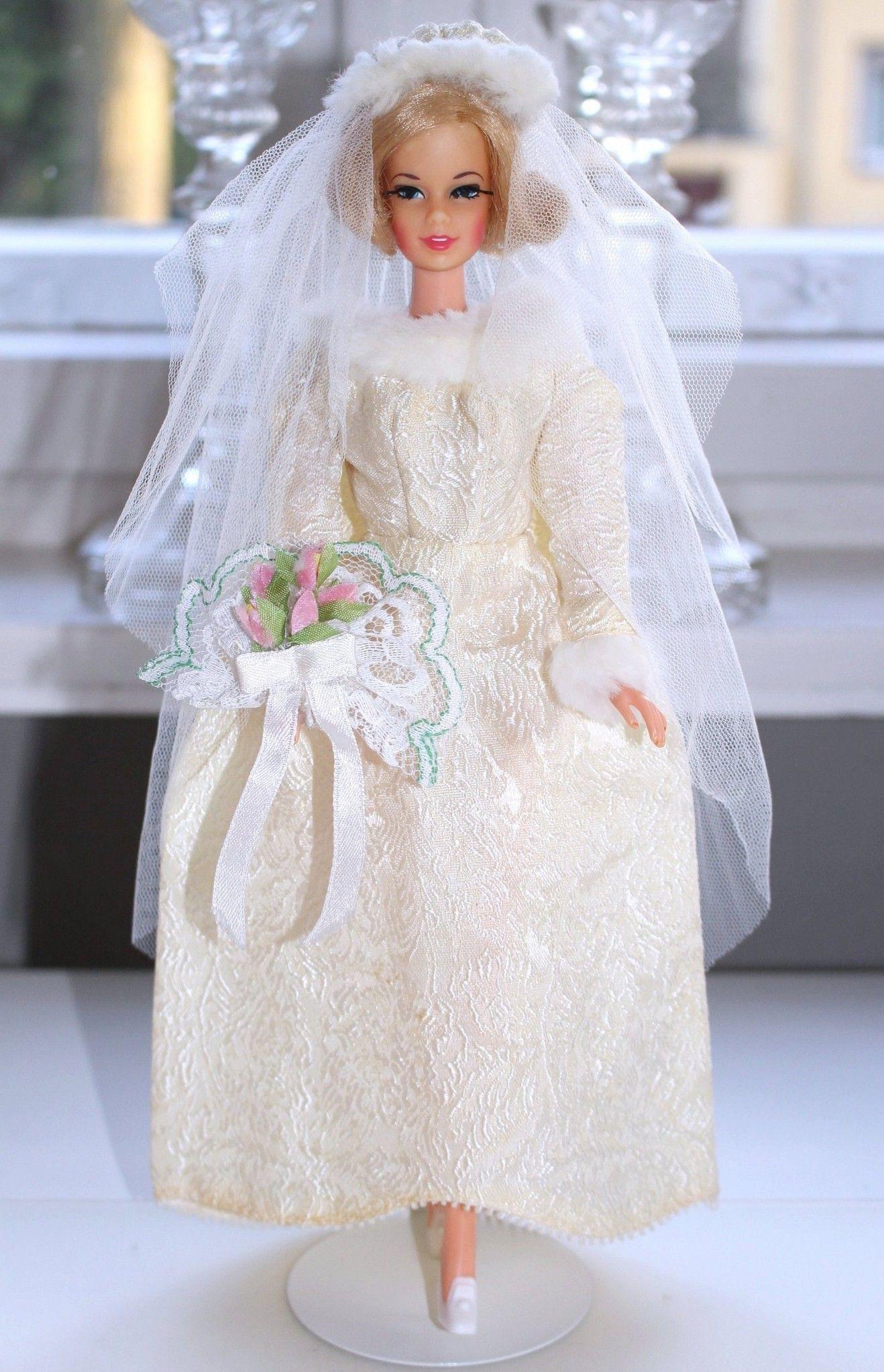 Short Flip Stacey in Winter Wedding both from 19  Vintage