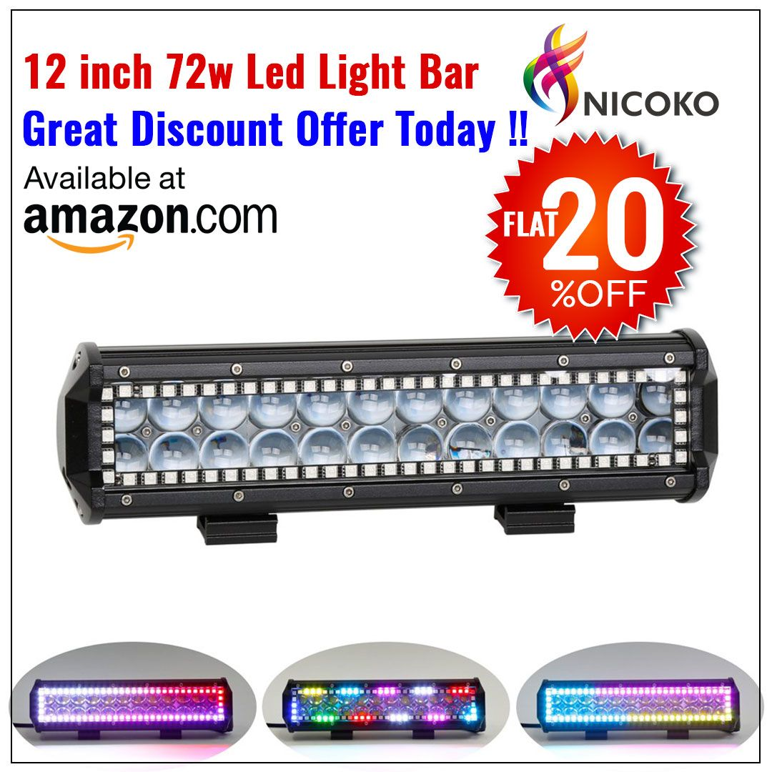12 Inch 4d Led Light Bar Led Light Bars Led Driving Lights Led Lights