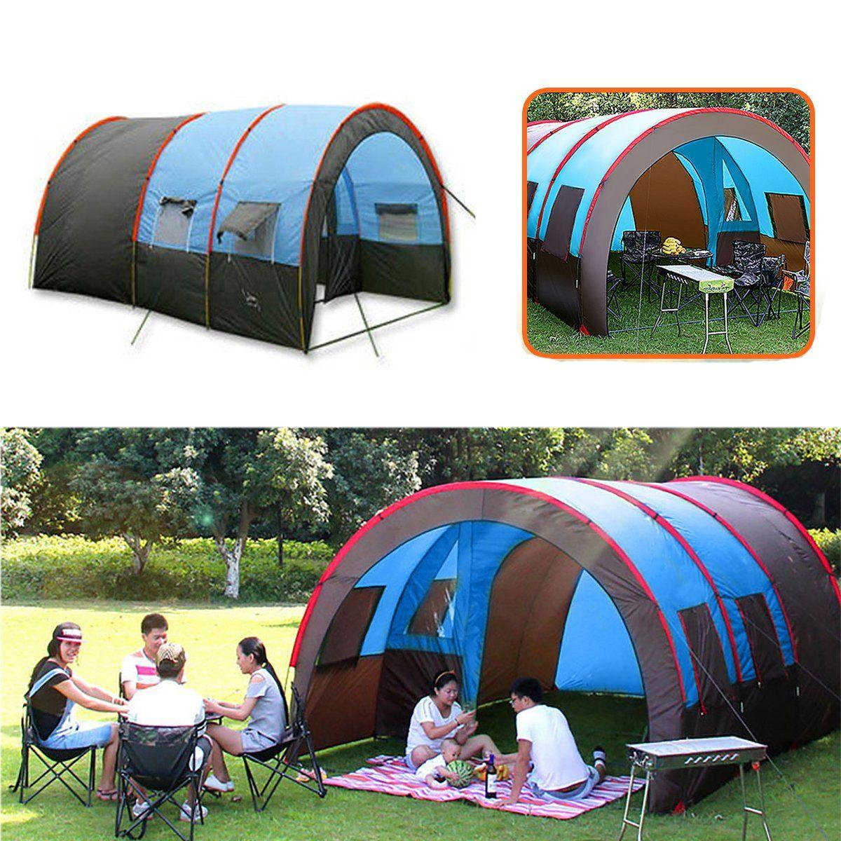 Xmund XD ET4 Camping Tent 8 10 People Waterproof Double