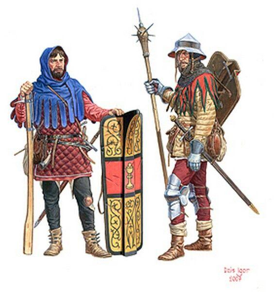 Hussite warriors. The Hussites (Czech: Husité or Kališníci ...