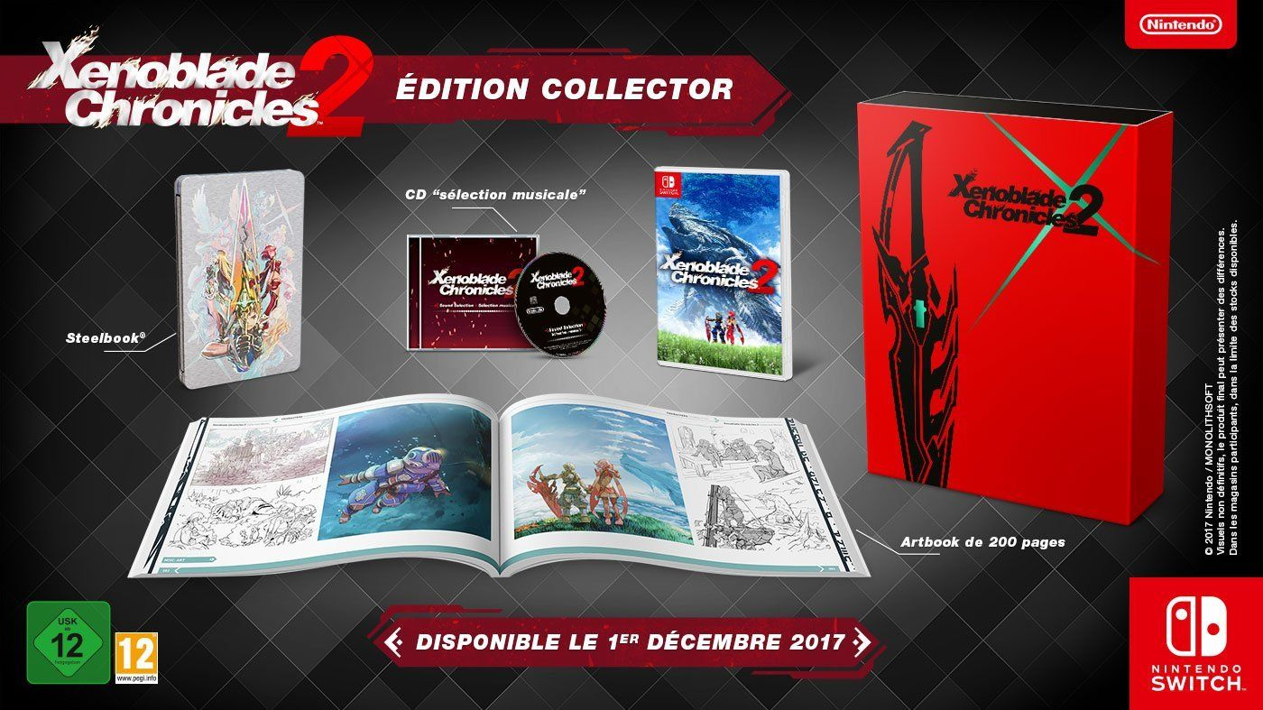 A Closer Look At The Xenoblade 2 Switch Collector S Edition With