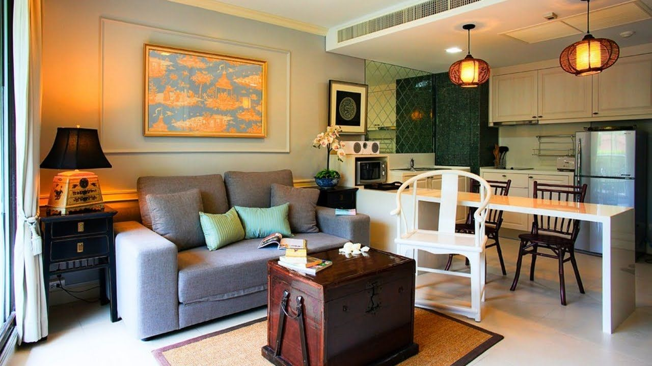 Small House Interior Design Living Room And Kitchen Home Design