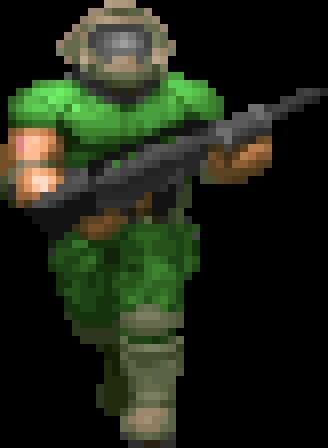 Doomguy Sprite Google Search Computer Graphics Doom Computer