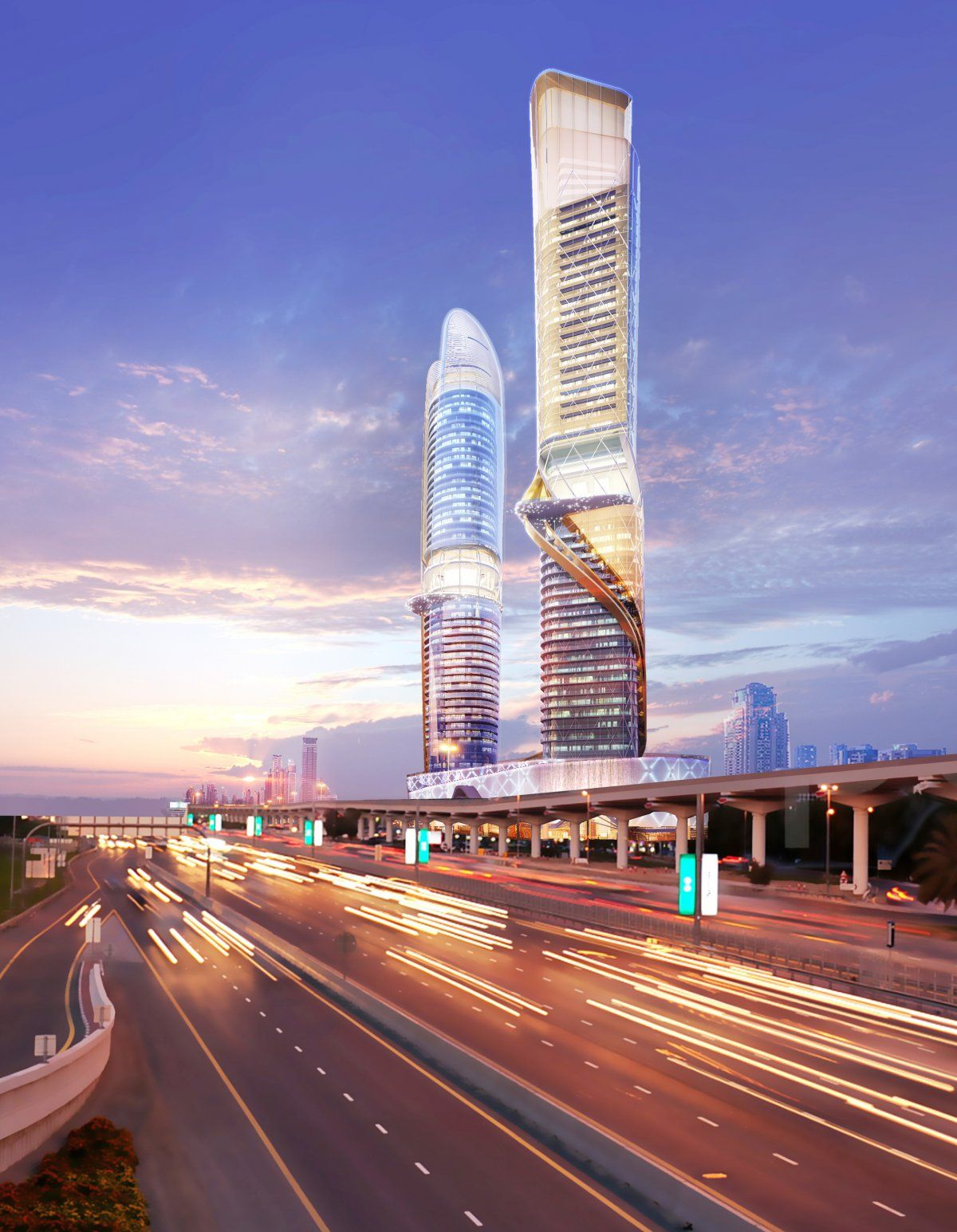 New Dubai Towers Will Have Indoor Rainforest And Manmade Beach photo