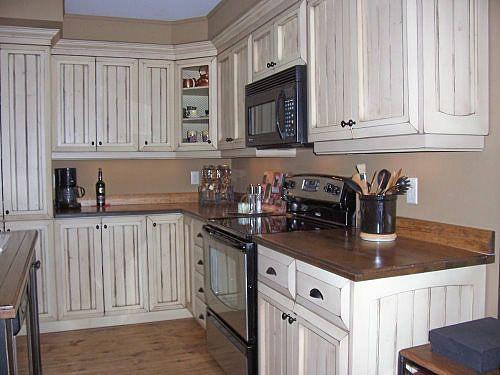 Couleur armoire de cuisine champetre en bois recherche for Amoure de cuisine