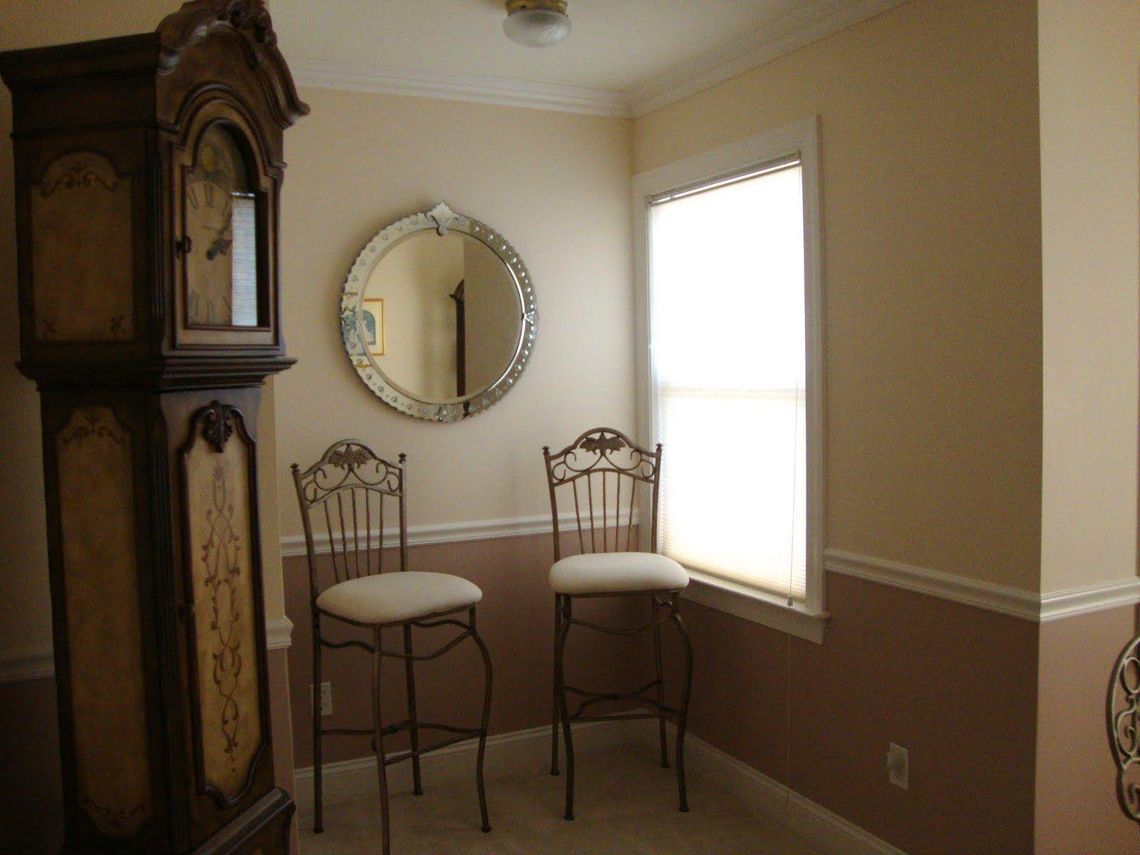 Chair Rail Split Color Google Search Living Room Paint