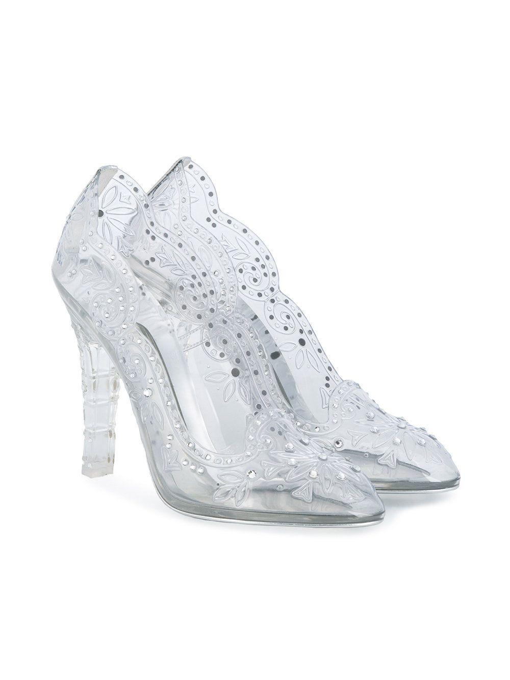 df8aca02329 Dolce & Gabbana cut-out Flower Pumps | Shoes | Cinderella heels ...