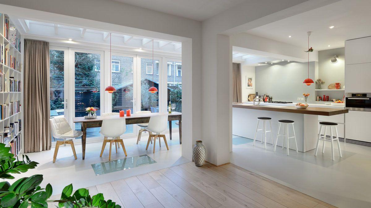 Aanbouw Open Keuken : Interieurontwerp bnla architecten aanbouw van woning keuken