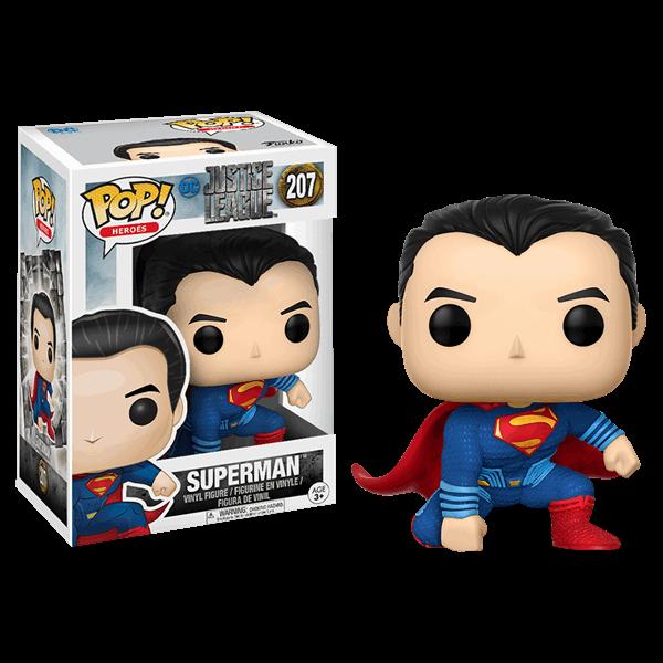 DC Comics - Justice League Movie - Superman Landing Pop! Vinyl Figure - ZiNG  Pop Culture 72b73c73ca11