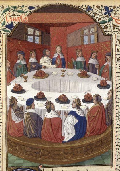 Bnf la l gende du roi arthur coll ge en 2019 roi - La table ronde du roi arthur ...