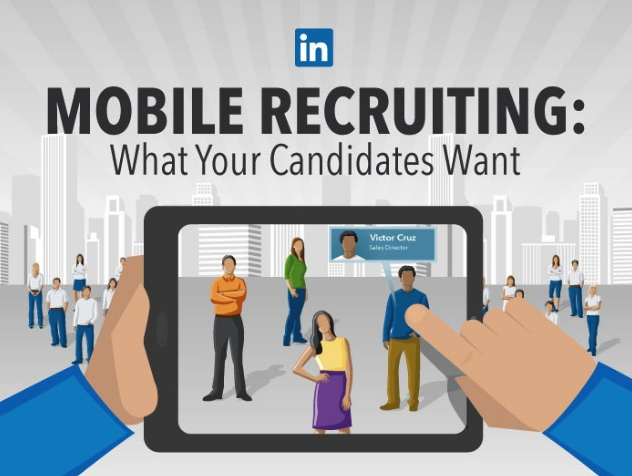 LinkedIn Mobile Recruiting Statistics 2014 Recruitment