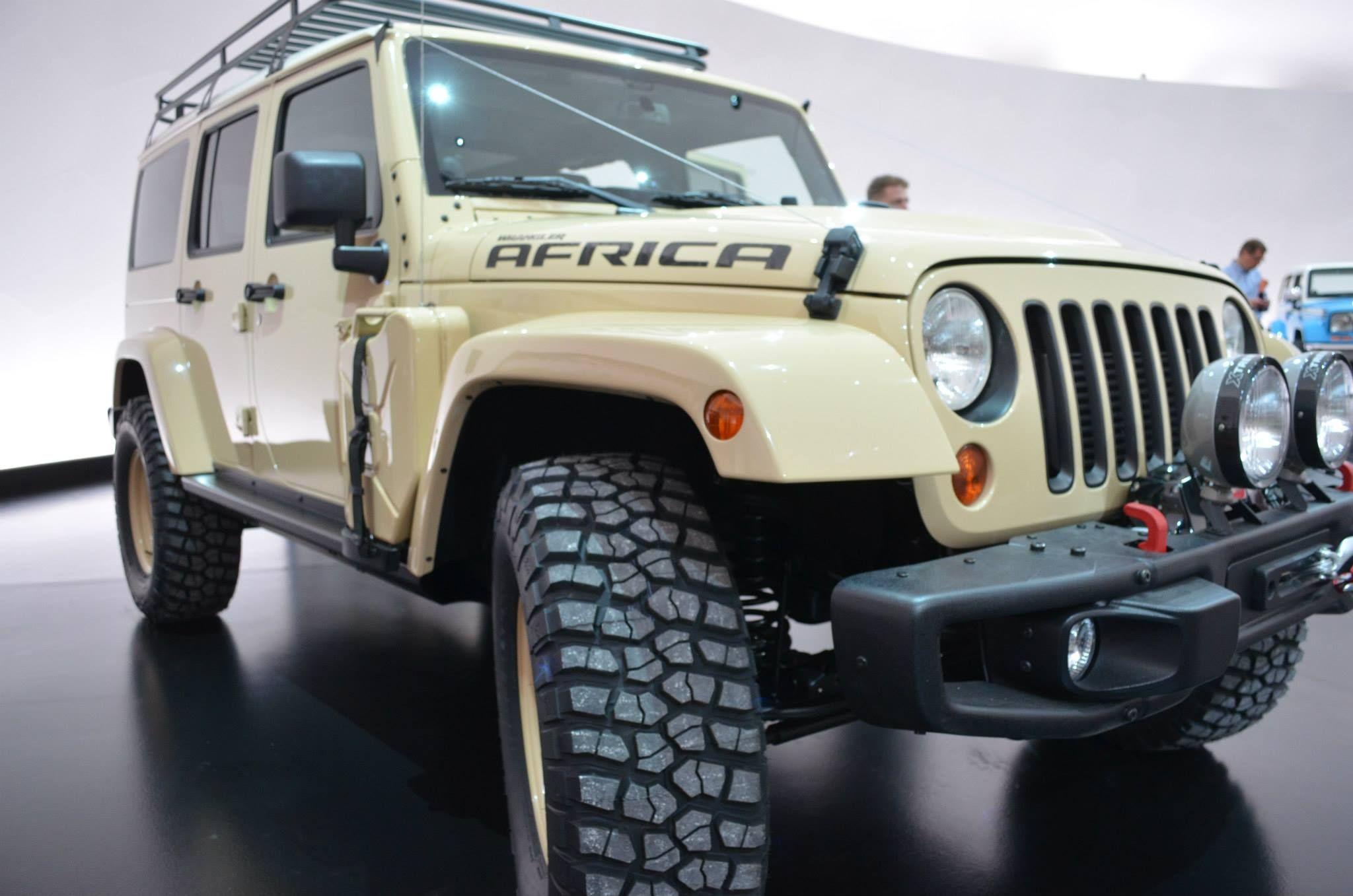 Jeep Wrangler Africa! Easter Jeep Safari in Moab Utah, 2015.