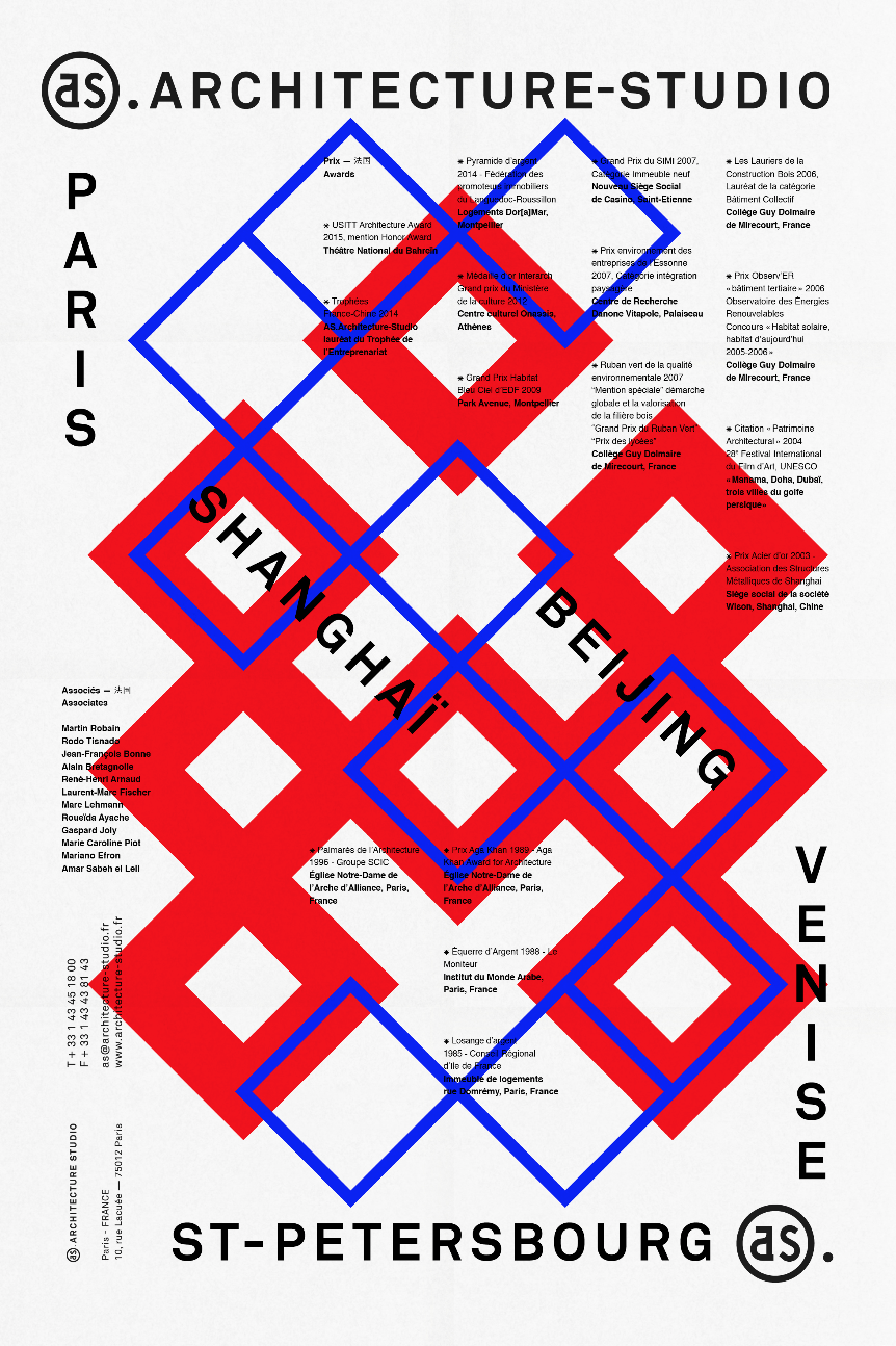 unquoted-sheets:  AS.ARCHITECTURE-STUDIO / les Graphiquants 2014