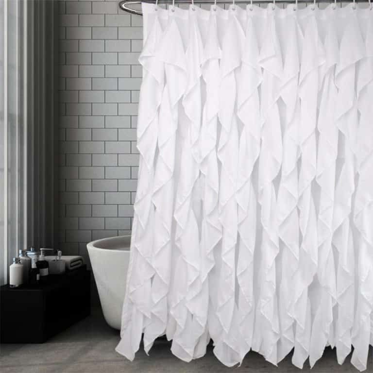 Top 10 Best Shower Curtains In 2020 Reviews Ruffle Shower