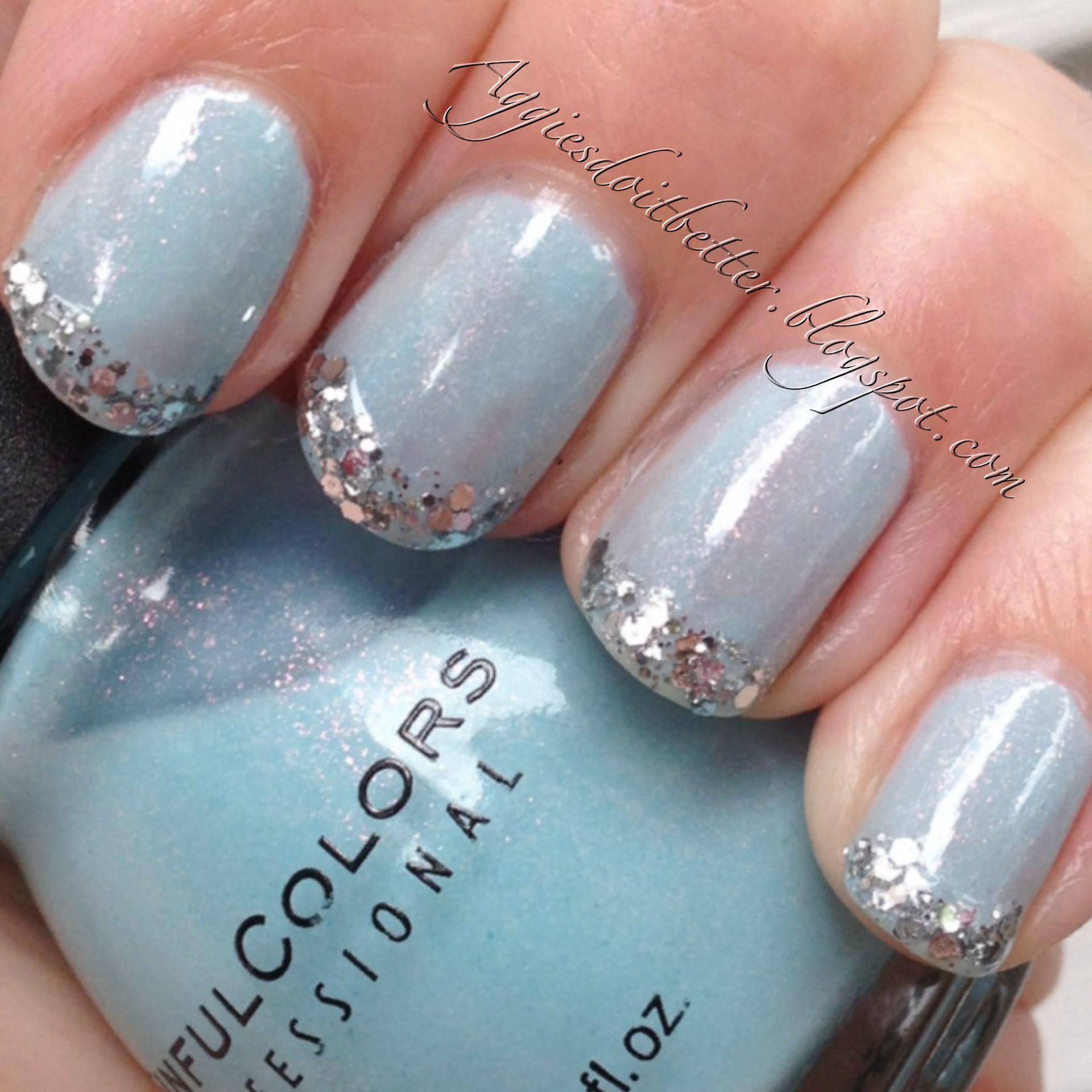 Cinderella Nails: Disney Cinderella Nails