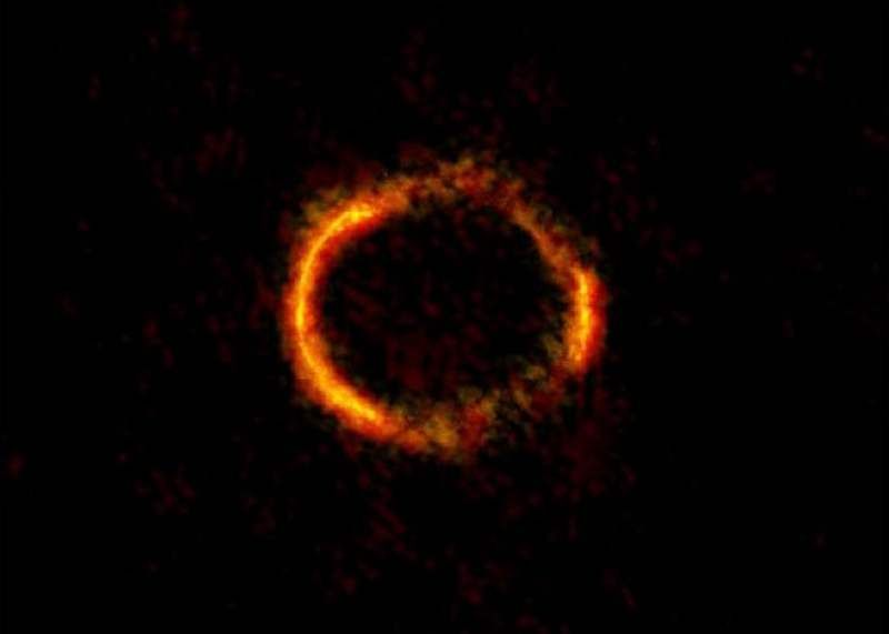 "Weighing a Black Hole by Einstein Ring Phenomenon  , - ,   Astronomers ""wei..."