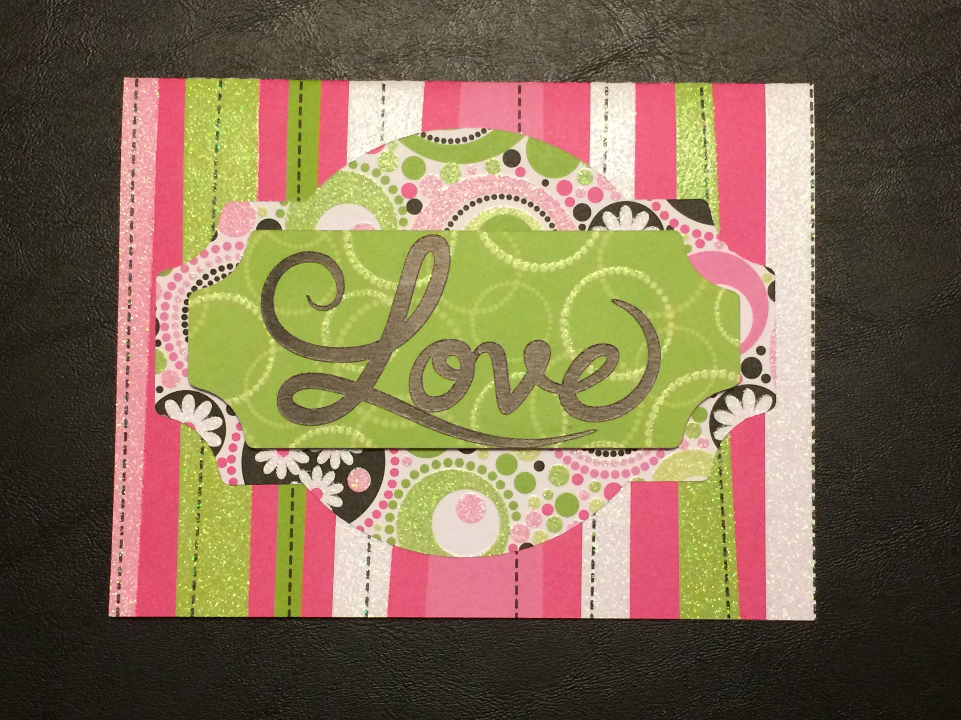 Anniversary Card Made Using Cricut Design Space Anniversary Cards Card Making Cricut Creations
