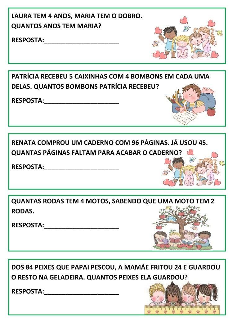 Pin De Ana Lucia Melo Santos Em Atividades De Matematica Em 2020