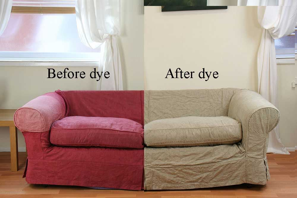 Sofa Refresh And Colour Change