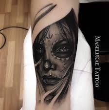 Resultado De Imagen De Tatuajes Catrina Hombre Brazo