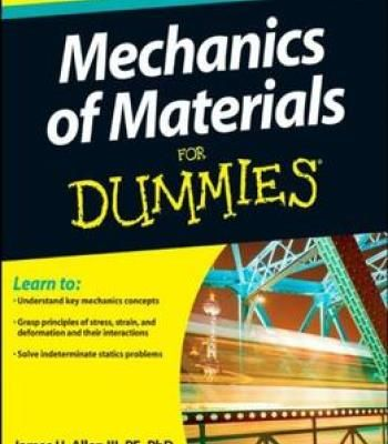 Mechanics Of Materials For Dummies PDF | Material Science