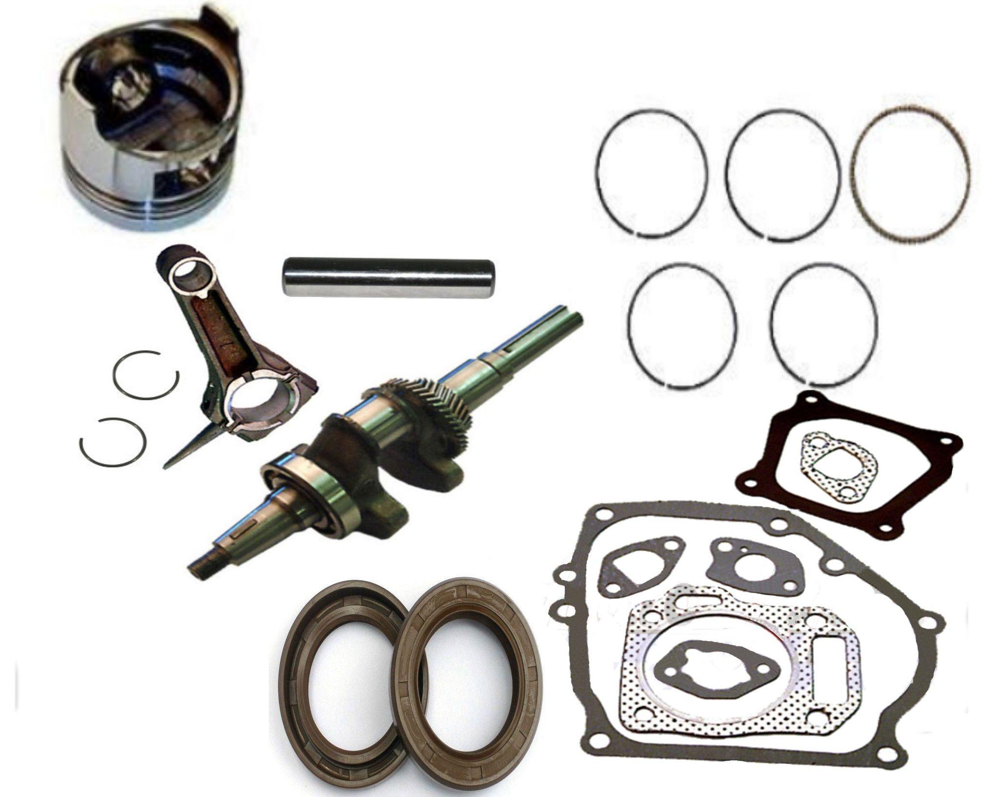 NEW FITS Honda GX160 5.5 hp PISTON AND RING CONNECTING ROD CRANKSHAFT 5.5 ENGINE